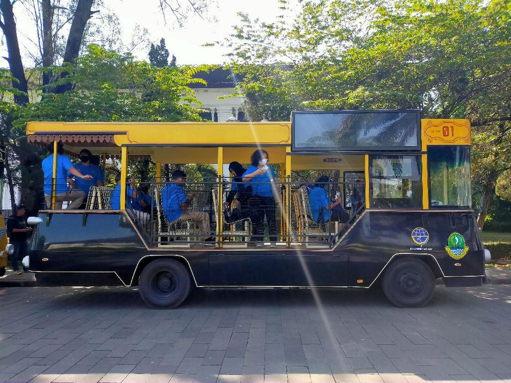 Sempat Setop Operasi, Bandros Siap Ajak Wisatawan Keliling Bandung