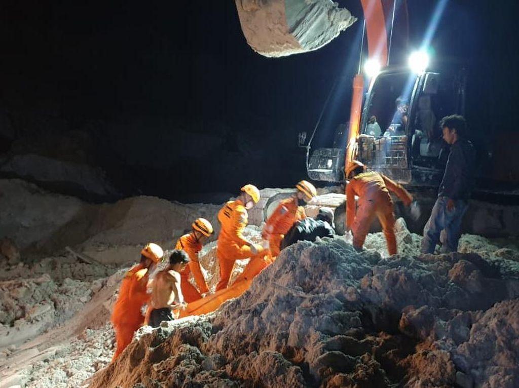 Total 6 Penambang Timah Tertimbun Longsor di Bangka Belitung Tewas