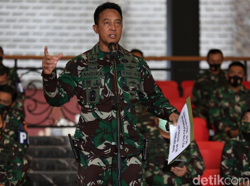 Kala Jenderal Andika Jaga Marwah Matra AD, Lepas Anak Buah Berulah
