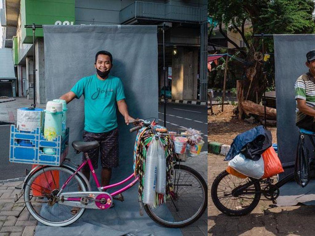 Terpopuler Sepekan: Fotografer Sulap Sepeda Pedagang Jadi Sekeren Brompton