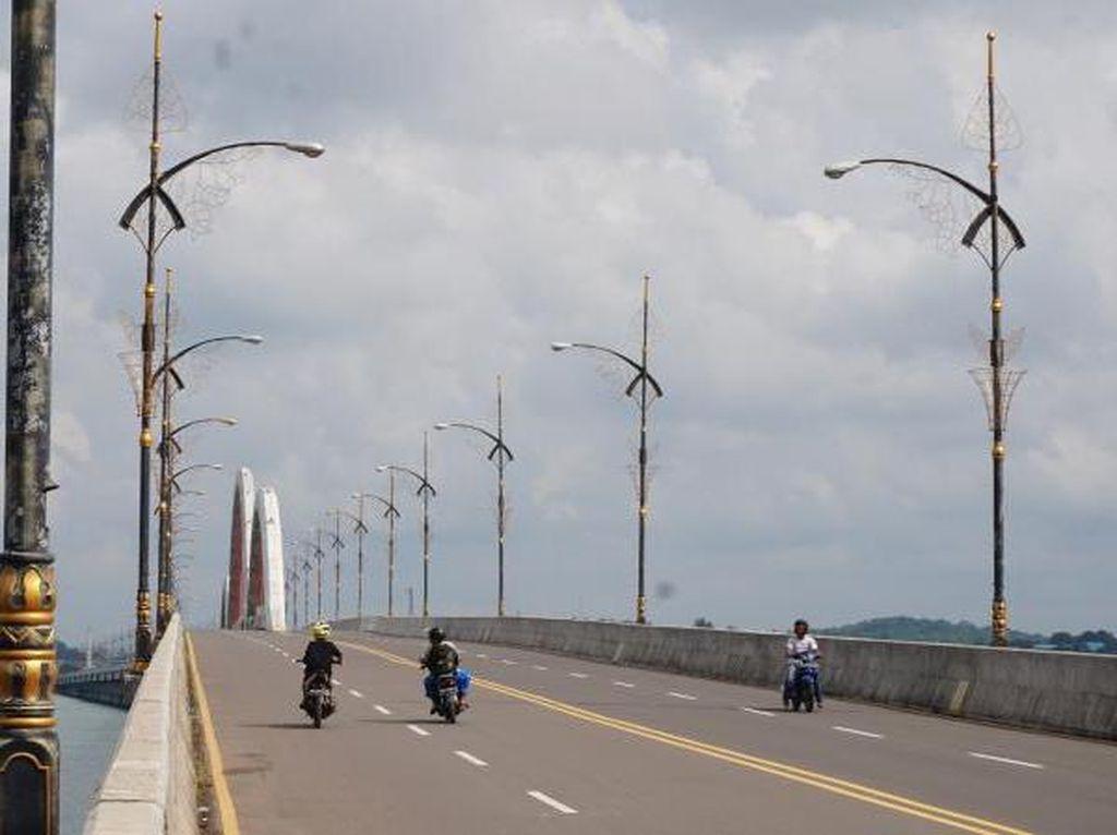 Foto: Jembatan Dompak, Ikon Wisata Baru Tanjung Pinang