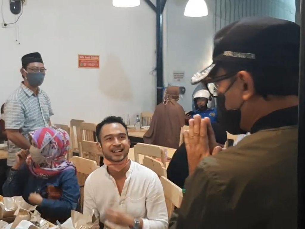 Momen Bima Arya Sidak Jam Operasional Mal-Kafe
