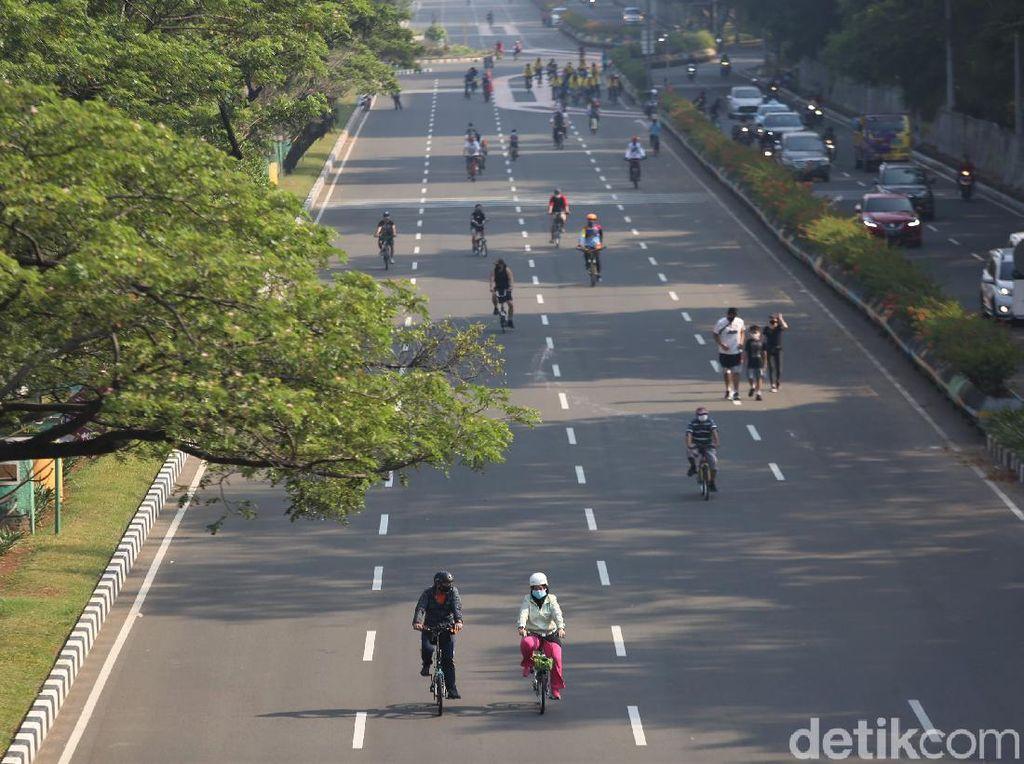 DKI Terapkan PSBB Total, 10 Titik Kawasan Khusus Sepeda Ditiadakan Besok