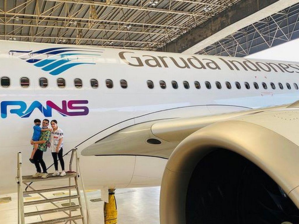 Logo RANS di Pesawat Garuda, Makin Banyak yang Mau Jadi Rafathar