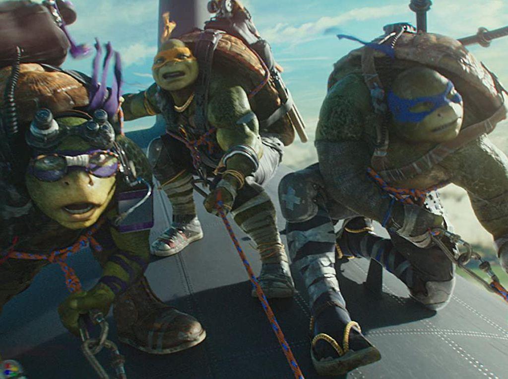 Sinopsis Teenage Mutant Ninja Turtles: Out Of The Shadow