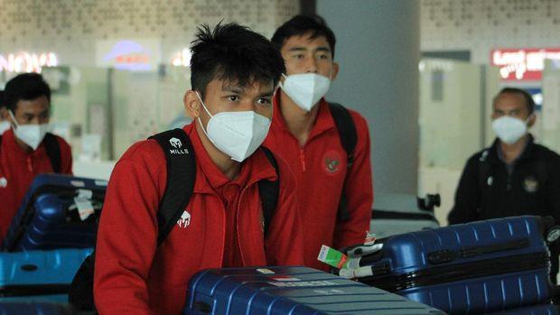 Rombongan Timnas Indonesia U-19 tiba di Zagreb, Kroasia, Minggu (30/8) siang waktu setempat.