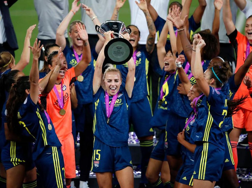 Lyon Juara Liga Champions Wanita 2019/2020