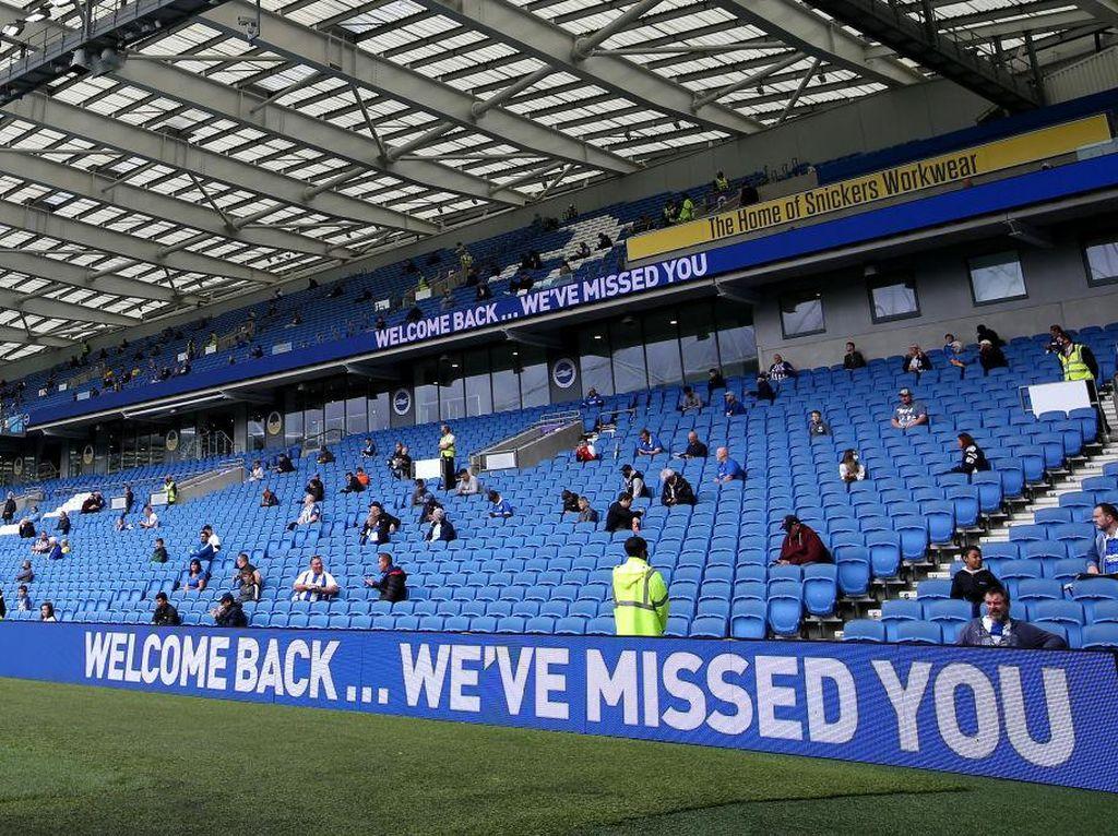 Liga Inggris Izinkan Suporter Datang ke Stadion Lagi?