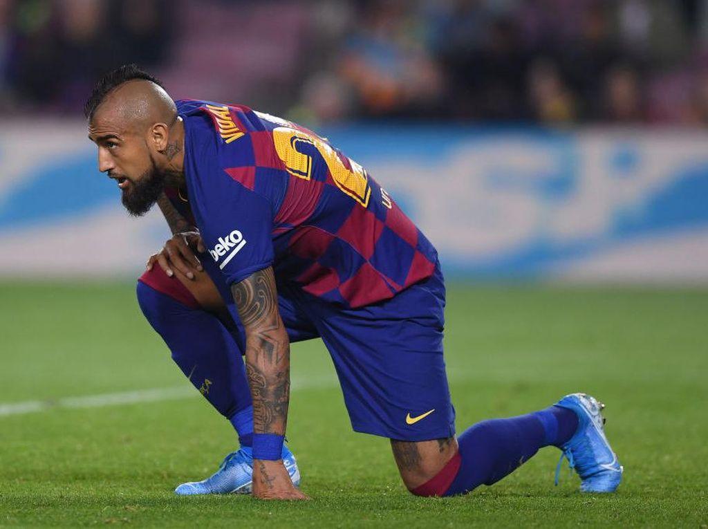 Vidal Mau Saja Bertahan di Barcelona, tapi...