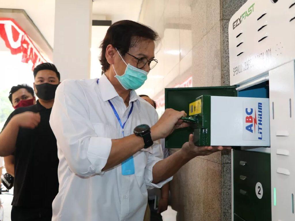Kementerian ESDM Kenalkan Stasiun Penukaran Baterai Kendaraan Listrik