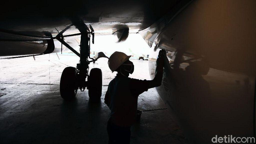 Mengintip Perawatan Pesawat Garuda untuk Cegah COVID-19