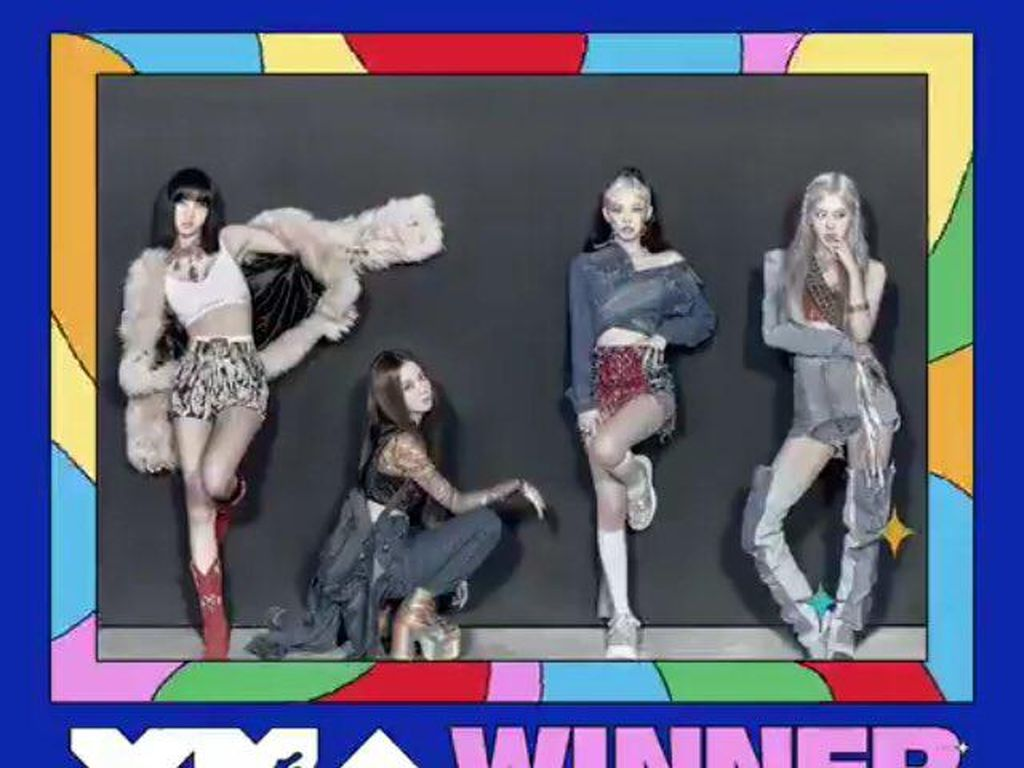 #BLACKPINK1stVMA! BLACKPINK Menang Song of Summer di MTV VMA 2020