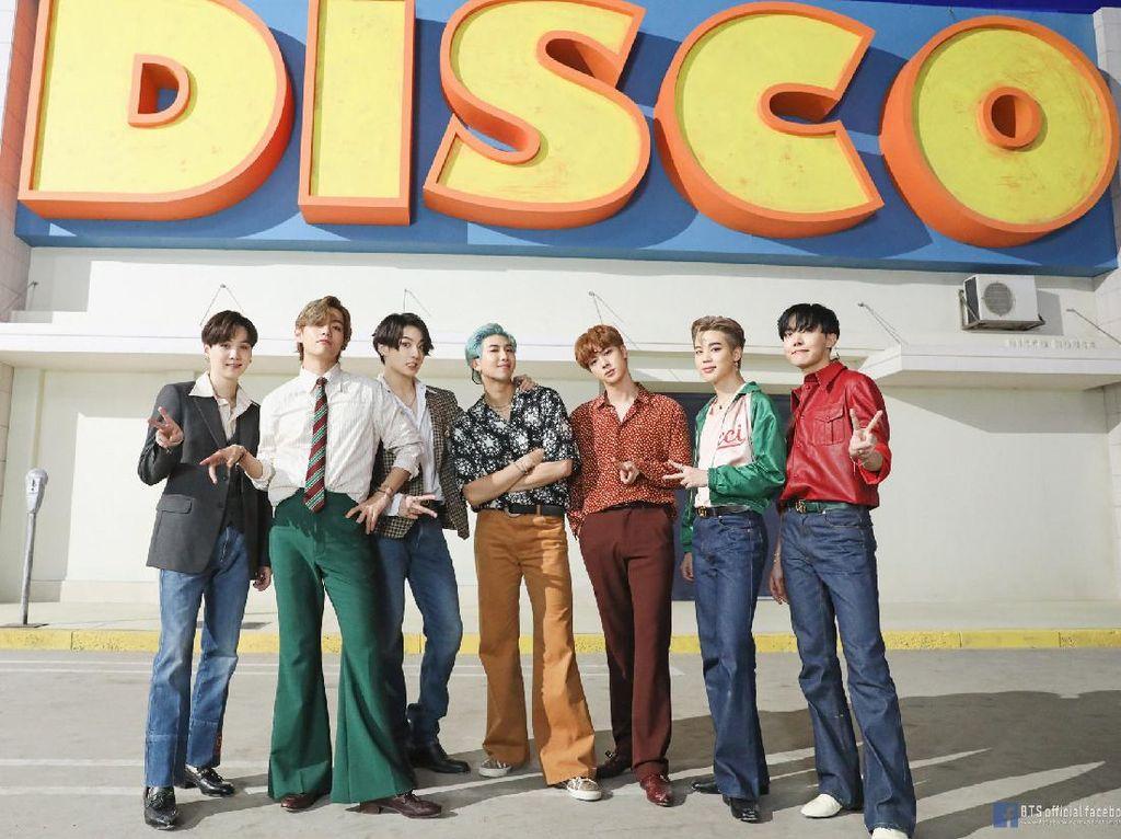 BTS Cetak Sejarah, Lagunya Ada di No. 1 dan 2 Billboard Hot 100