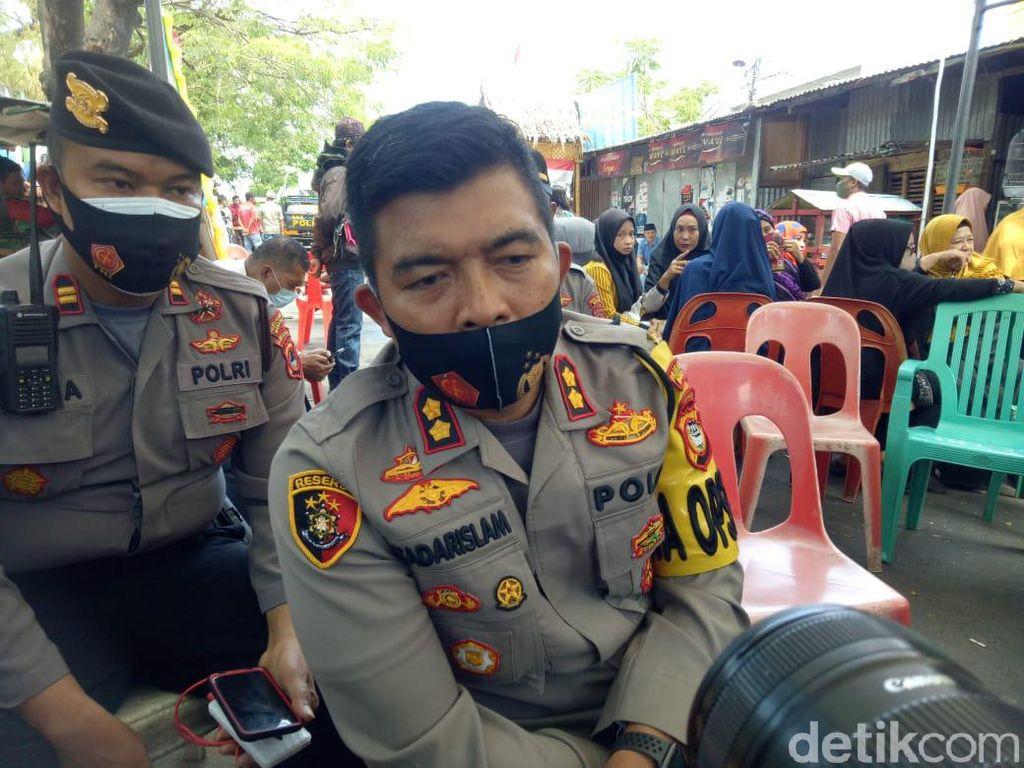 16 Polisi Diamankan Jelang Sidang Kasus Penembakan Warga di Makassar