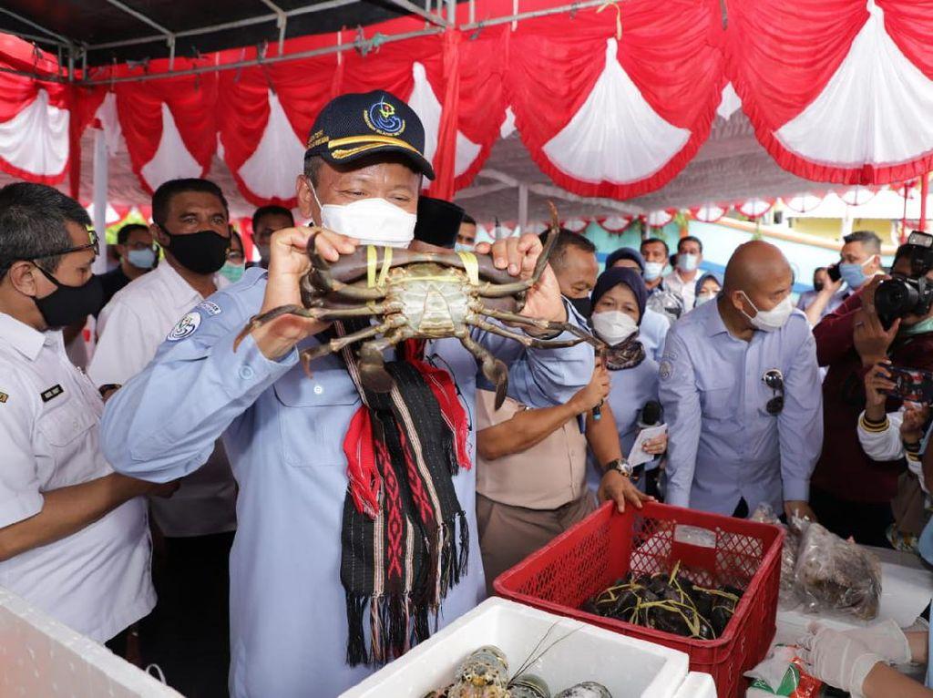 Edhy Prabowo Apresiasi Pelaku Usaha & Stake Holder Perikanan di Maluku