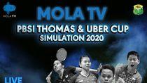 Simulasi Piala Uber 2020: Asty Dwi Widyaningrum Cedera