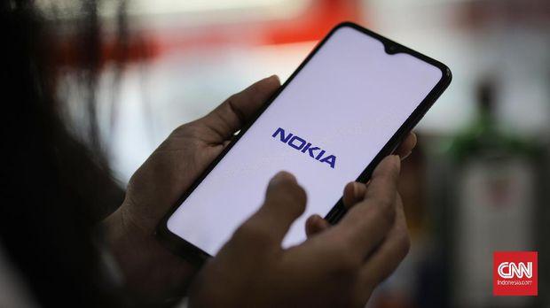Ponsel Nokia 5.3. CNNIndonesia/Safir Makki