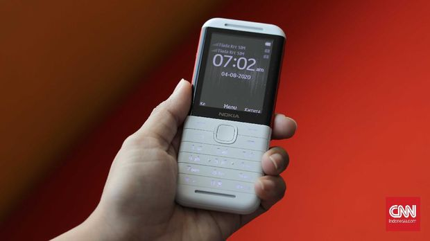 Ponsel Nokia 5310. CNNIndonesia/Safir Makki