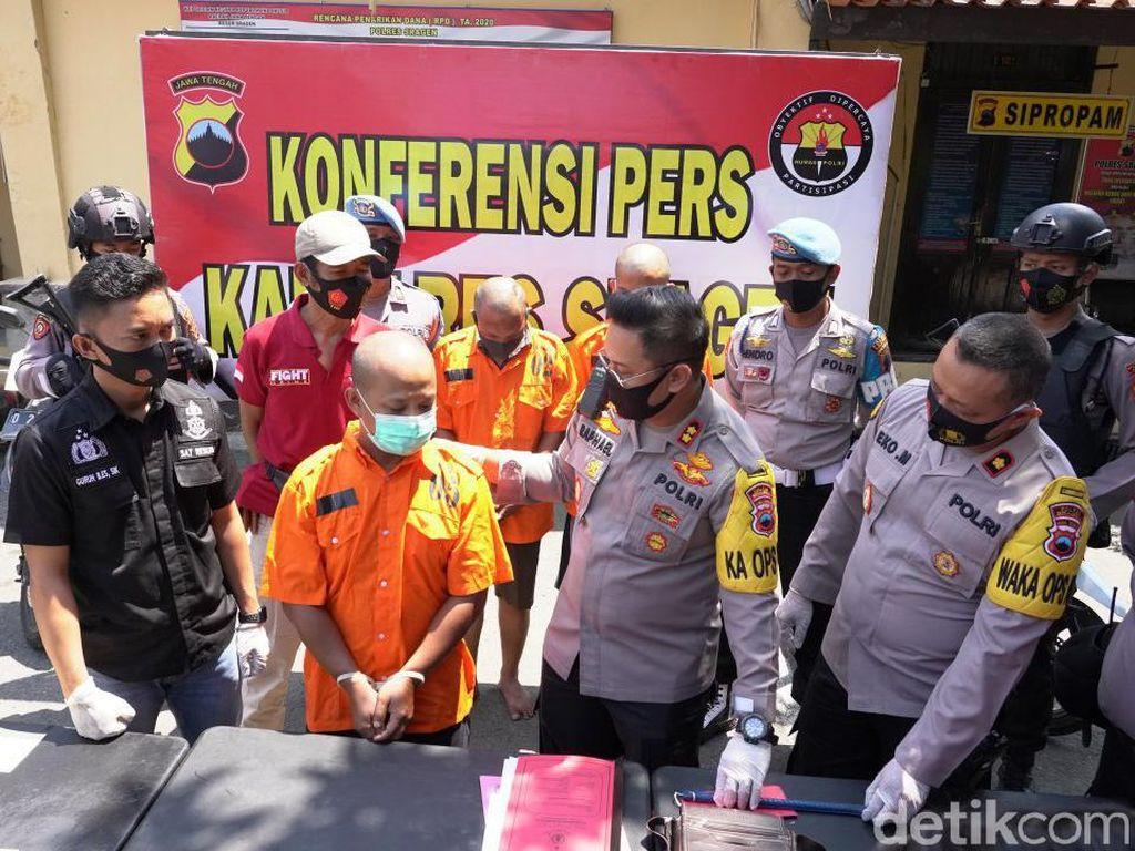 Pede Bermasker Tak Dikenali, Pria Sragen Nekat Rampok Toko Tetangga