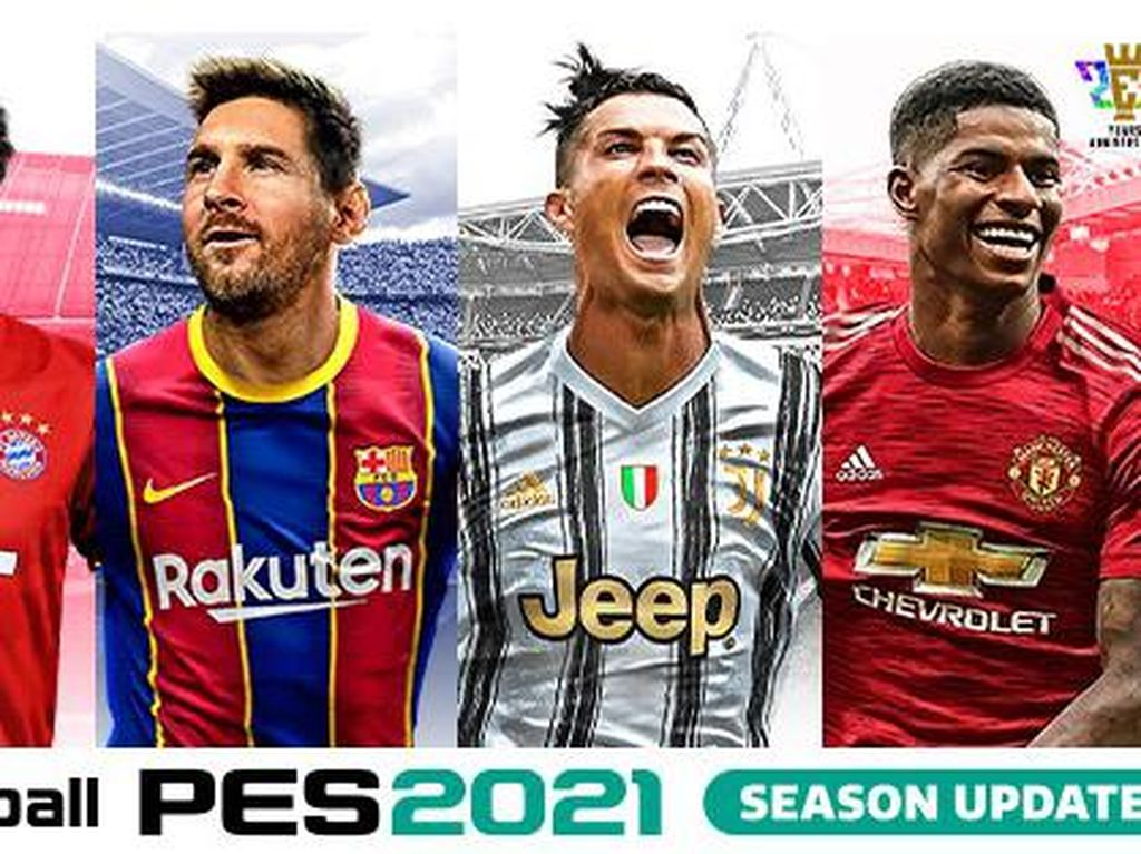 Di PES 2021, Lionel Messi Masih Berseragam Barcelona