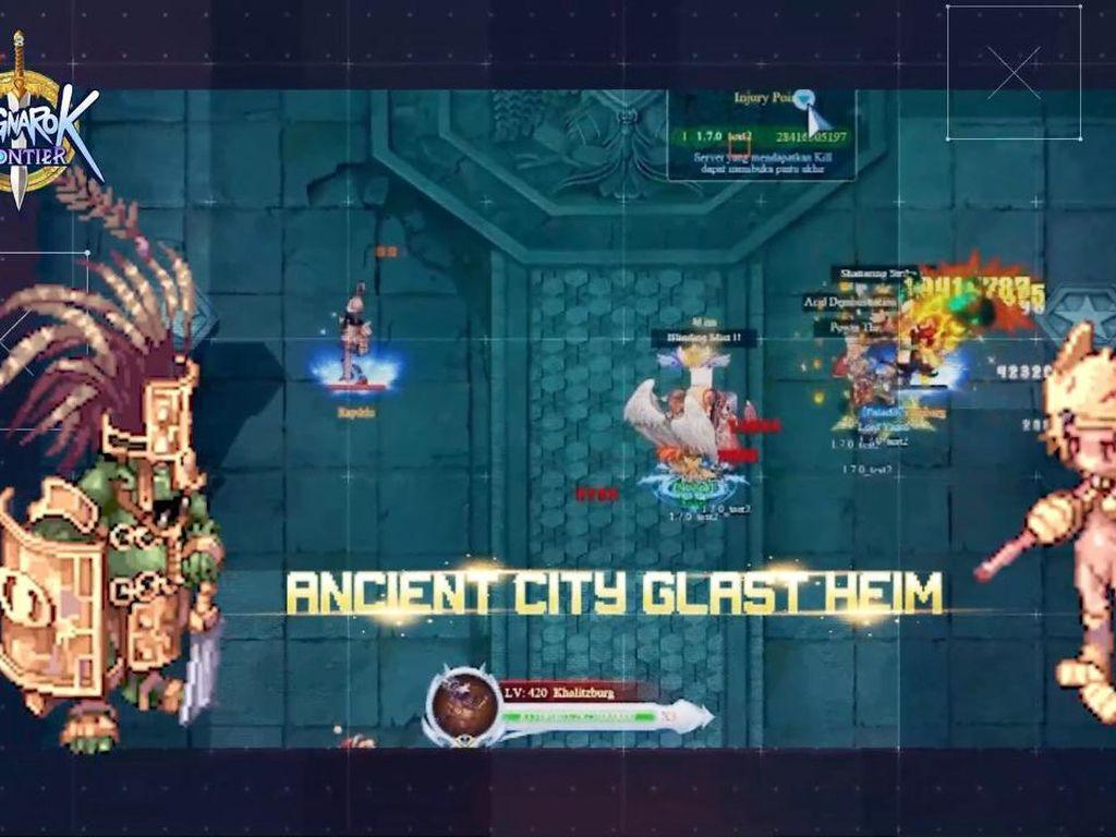Ragnarok Frontier Kebagian Update Glash Heim Memorial Dungeon