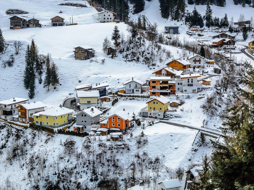 Penampakan Resort Ski Austria yang Jadi Super Spreader Corona