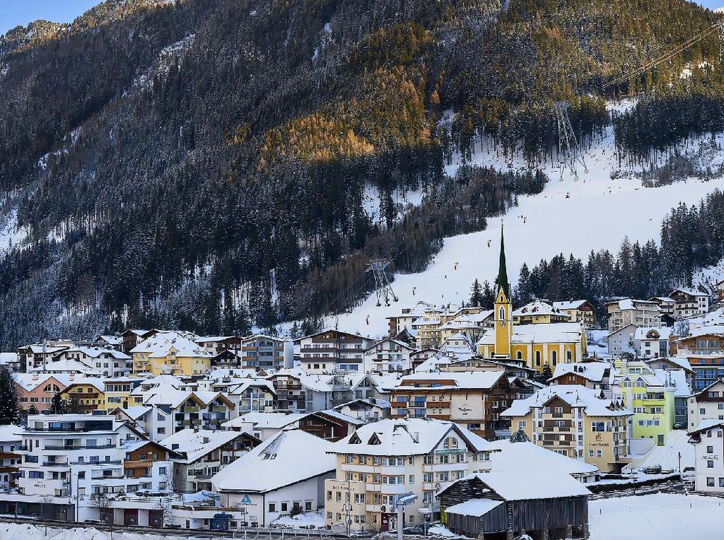 Resort Ski di Austria Dicurigai Sebarkan Corona ke 45 Negara