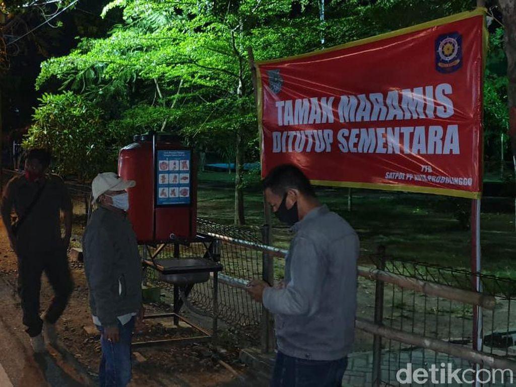 Buntut Viral Video Mesum, Taman Maramis Kota Probolinggo Langsung Ditutup