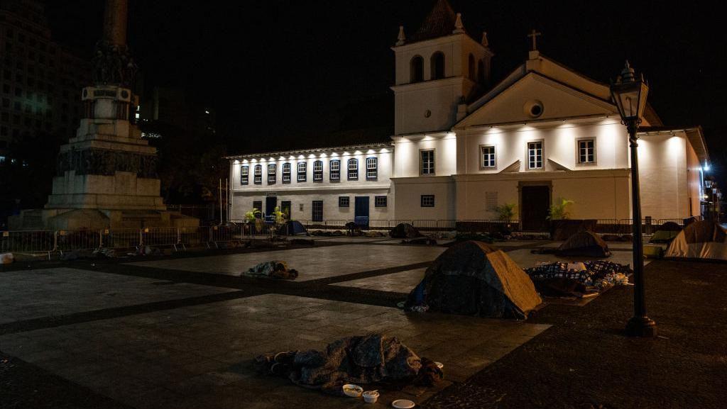 Populasi Tunawisma Meningkat Pesat di Brasil