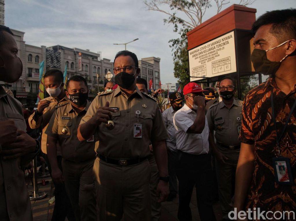 Anies Rapat Khusus soal Corona di DKI Hari Ini: Situasi Mengkhawatirkan