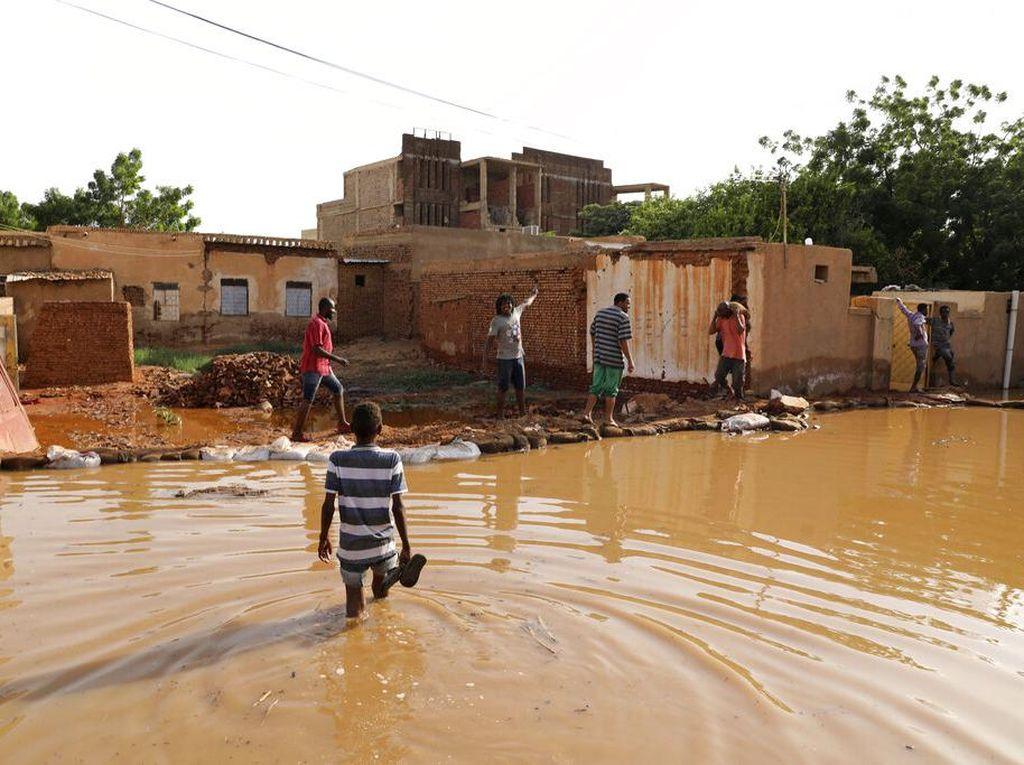 Banjir Melanda Sudan, 34.000 Rumah Rusak Parah