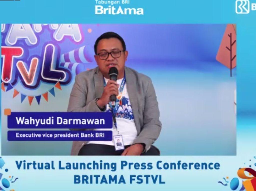 Gelar BritAma FSTVL, BRI Targetkan Gaet 1 Juta Nasabah Baru