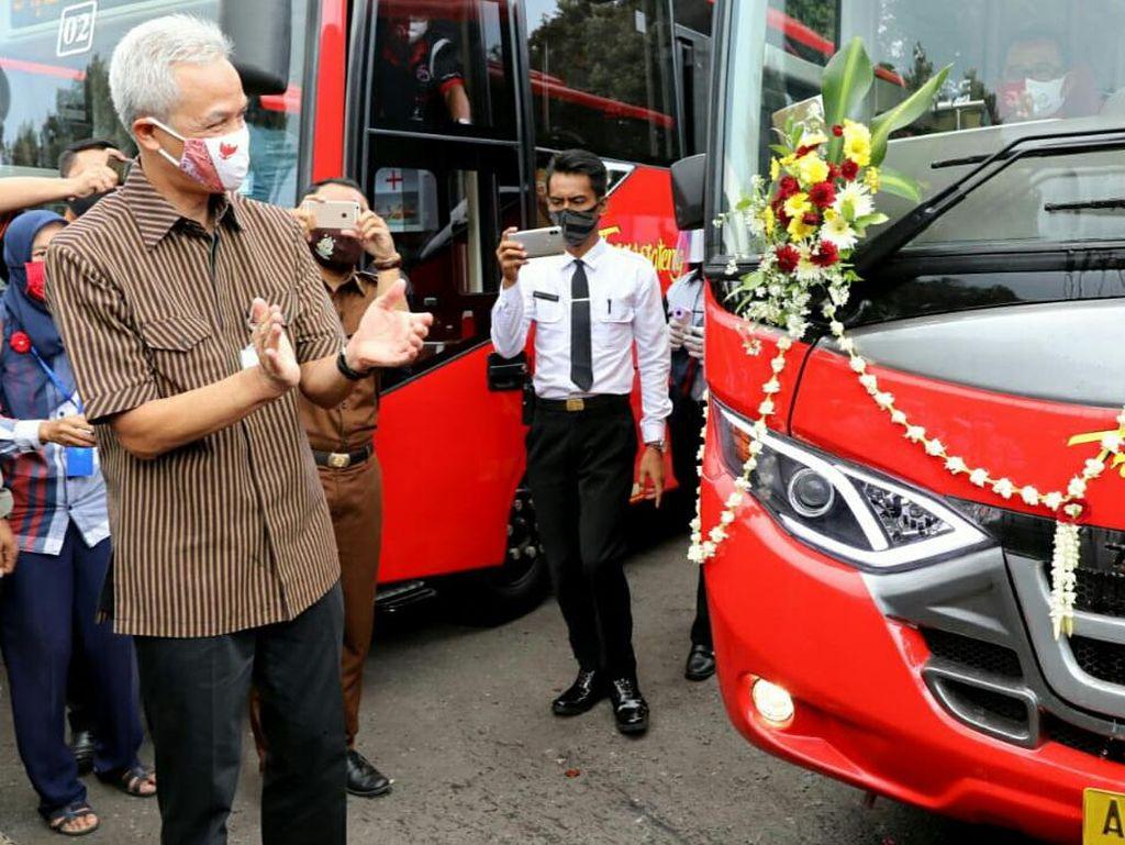 Gratis 9 Hari! Ini Rute Bus Trans Jateng Purworejo-Magelang
