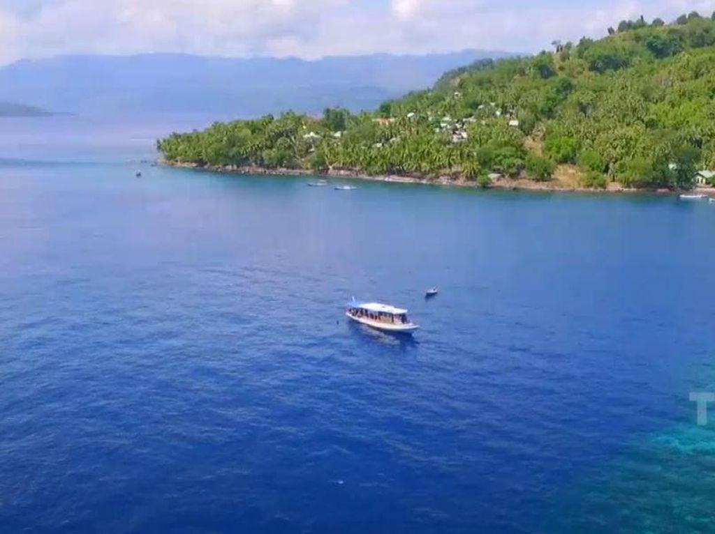 Celebrity on Vacation: Menyelami Bawah Laut Pulau Alor NTT