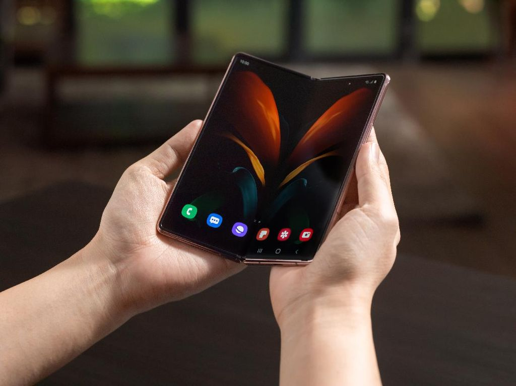 Sederet Fitur Galaxy Z Fold2 Dukung Aktivitas Para Sultan