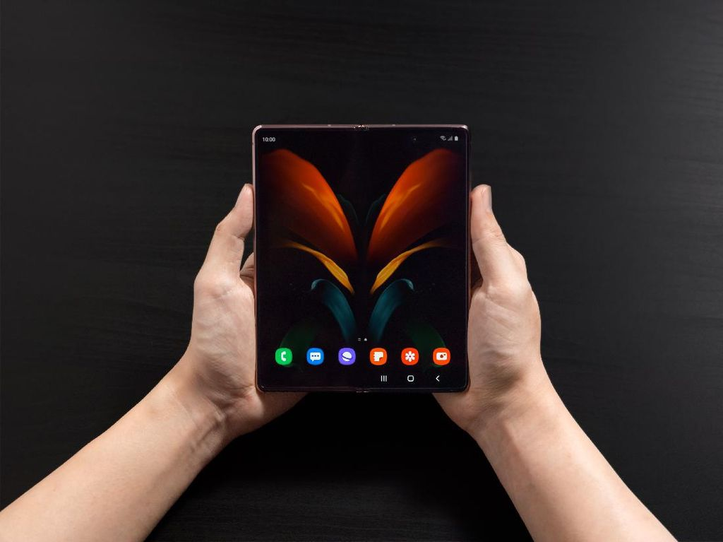 Galaxy Z Fold 2 Dipastikan Hadir di Indonesia, Harganya?