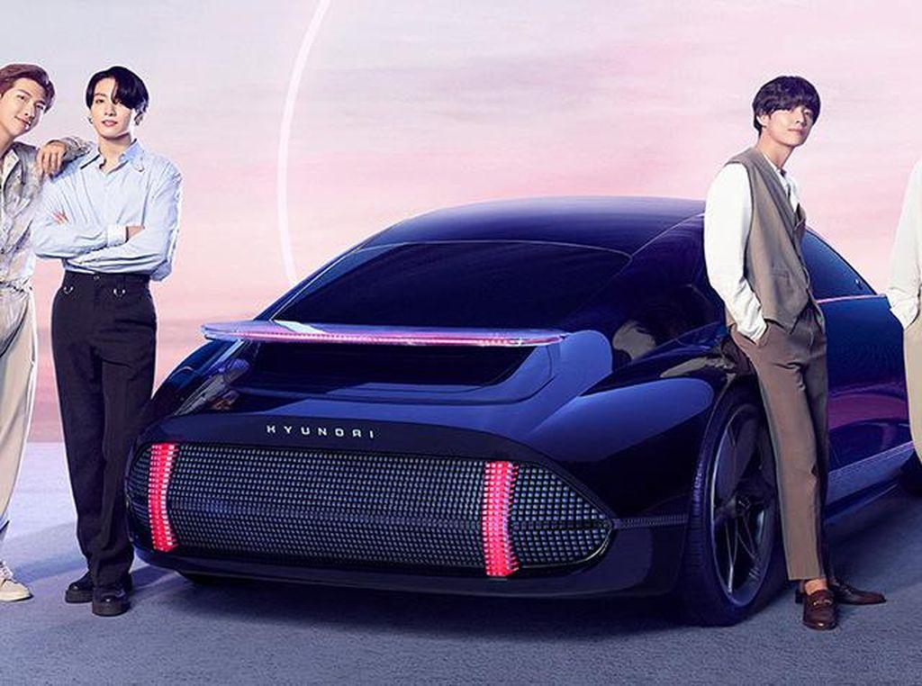BTS Bikin Lagu Spesial Untuk Hyundai Ioniq
