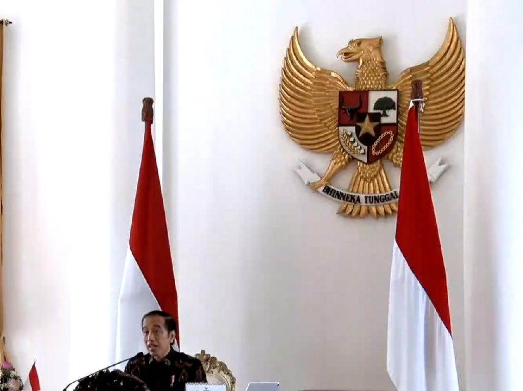 Jokowi Minta Gubernur Lihat Angka Corona: Waspadai Tren Negara Lain