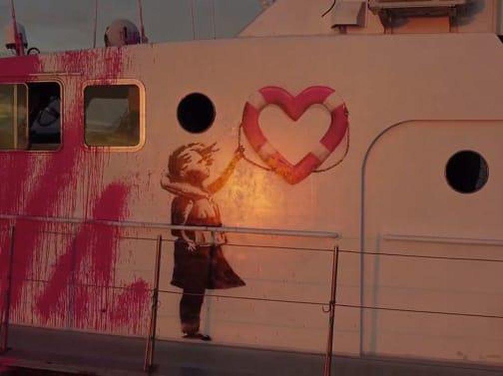 Banksy Siapkan Aksi Terbesar di 2021