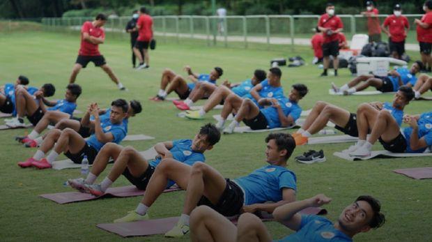 Latihan Perdana Timnas Indonesia U-19 di Kroasia