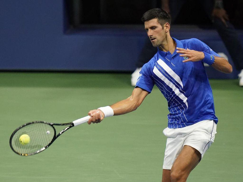 AS Terbuka: Djokovic Cuma Kehilangan 6 Gim, Osaka Menang 3 Set