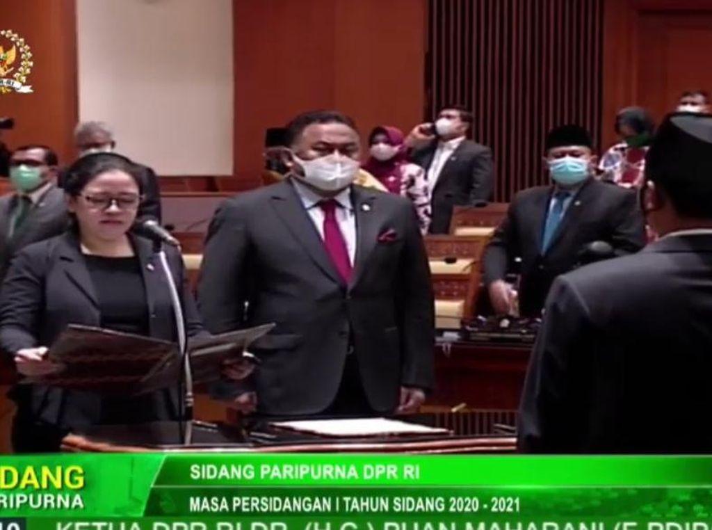 DPR Lantik PAW untuk Anggota F-Gerindra Prasetyo Hadi