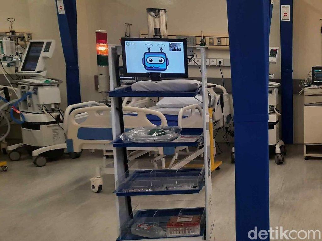 Robot RAISA Dikirim ke Wisma Atlet Bantu Rawat Pasien COVID-19