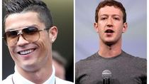 Zuckerberg dan Ronaldo Banyak Kesamaan Kecuali Kekayaan