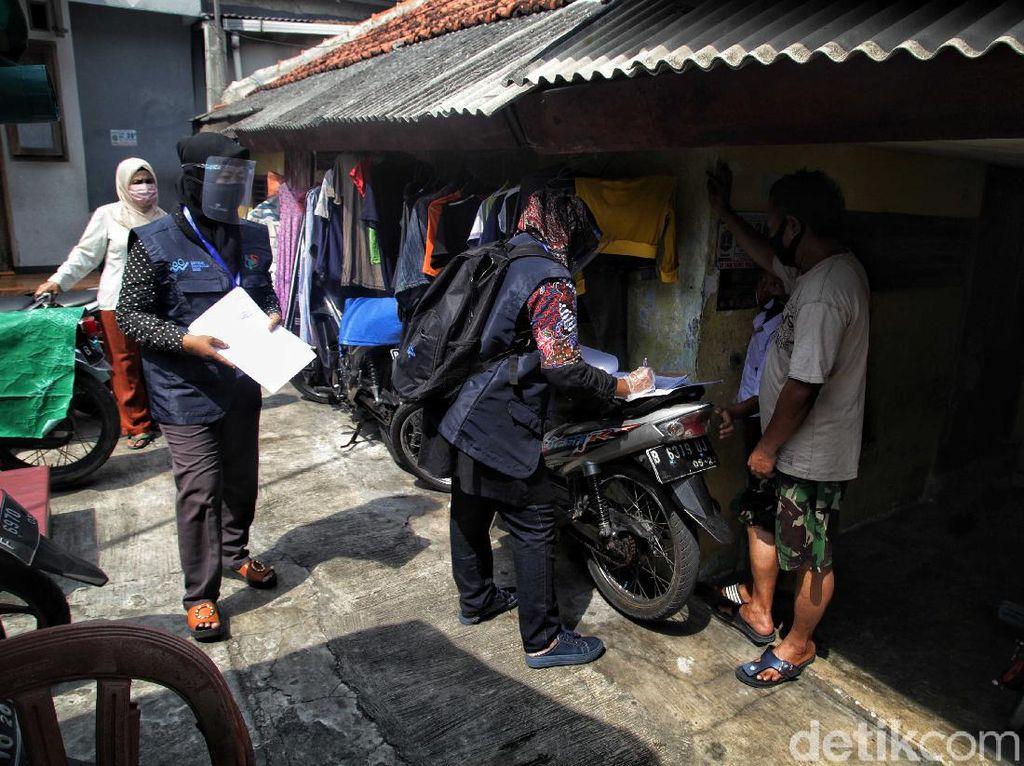 Melihat Hari Pertama Sensus Penduduk di Jakarta Utara