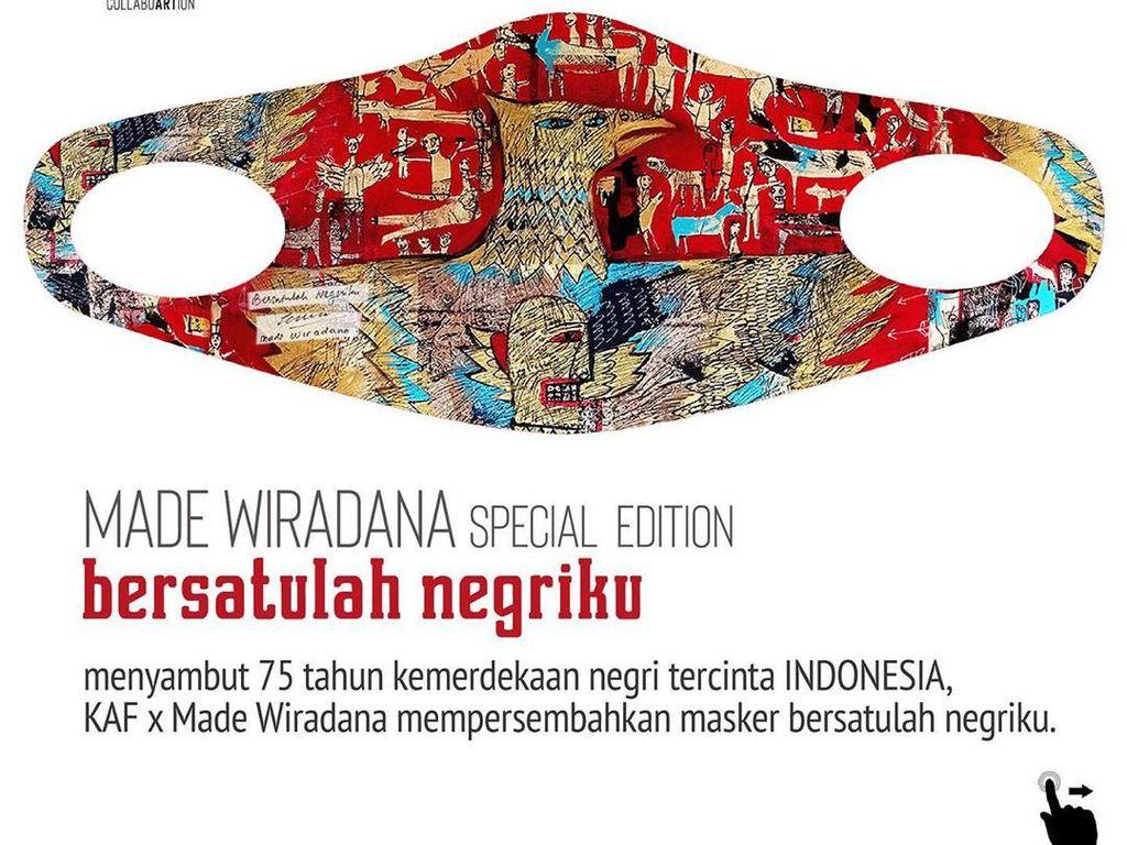 Tren Masker Nyeni Buat Lukisan Seniman Indonesia Makin Digandrungi