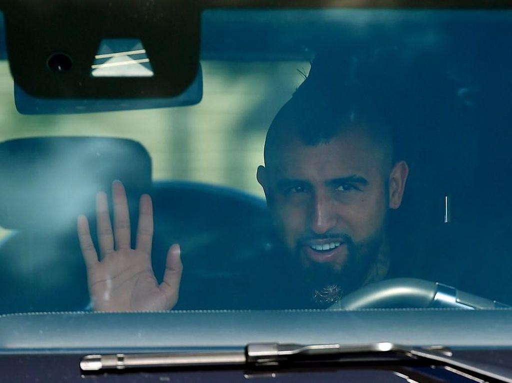 Vidal Dikabarkan Sudah Deal Gabung Inter Milan