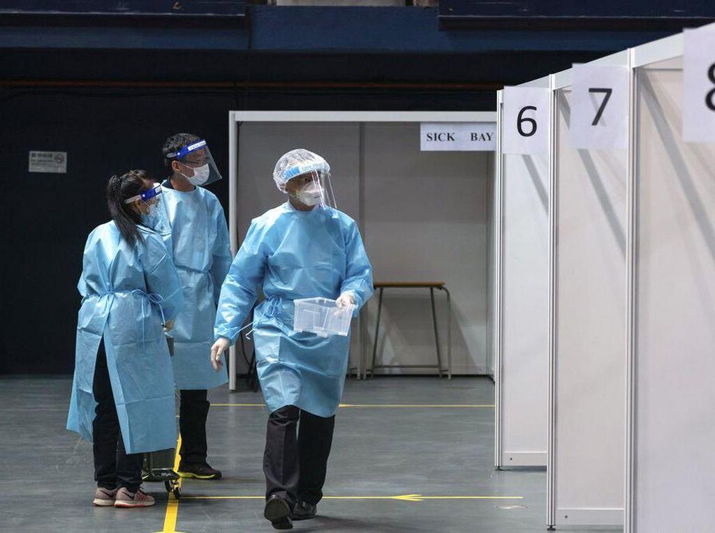 Pasien Corona Kabur dari RS, Hong Kong Gelar Pencarian Besar-besaran