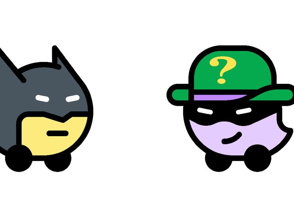 Seru! Batman Siap Bantu Pengendara Hindari Macet di Jakarta