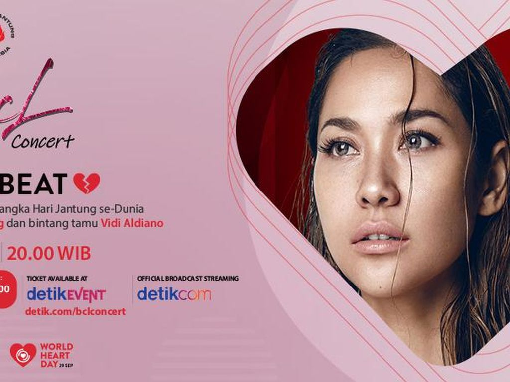 Kenang Ashraf, BCL Akan Konser Peringati Hari Jantung Dunia